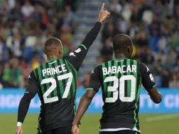 Kevin-Prince Boateng e Babacar. Getty