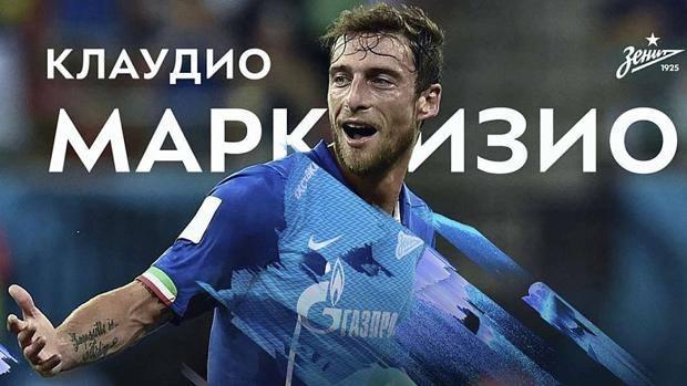 L'annuncio dello Zenit: arriva Claudio Marchisio. Fonte: en.fc-zenit.ru