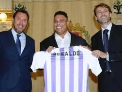 Ronaldo Luís Nazário de Lima, 42 anni, nuovo proprietario del Valladolid. Epa