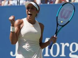 Madison Keys, 23 anni, finalista agli Us Open nel 2017. Afp