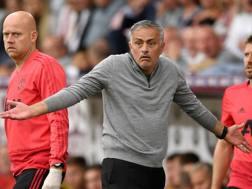 José Mourinho, allenatore del Manchester United. Getty Images