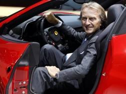 L'ex presidente della Ferrari Luca Montezemolo. Ap