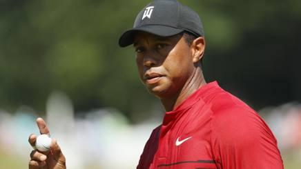 Tiger Woods, 42 anni, ha vinto 14 Major in carriera. Afp