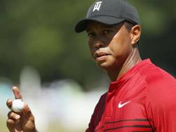 Tiger Woods, 42 anni, ha vinto 14 Major in carriera. Afp