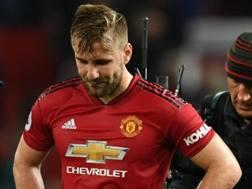 Luke Shaw, 23 anni, terzino del Manchester United. Getty