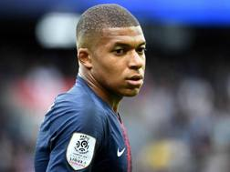 Kylian Mbappé, attaccante del Paris Saint-Germain. Ap