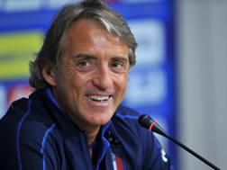Roberto Mancini, c.t. della Nazionale italiana. LaPresse