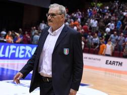 Romeo Sacchetti, 65 anni, c.t. azzurro. Ciam/Cast