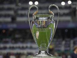 Il trofeo della Champions League. Getty