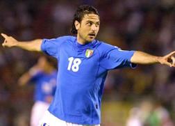 Stefano Fiore, ex centrocampista della Nazionale. Ciamillo