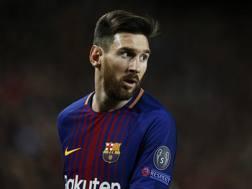 Lionel Messi, attaccante del Barcellona. Afp