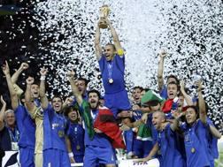 La nazionale italiana campione del mondo 2006 ANSA