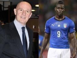 Arrigo Sacchi, 72 anni, e Mario Balotelli, 28.