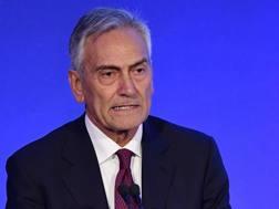 Gabriele Gravina, presidente di Serie C. Ansa