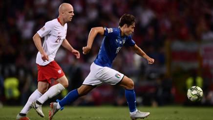 Federico Chiesa, 21 anni, esterno della Fiorentina e della Nazionale. Afp