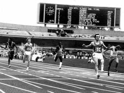 Pietro Mennea a Città del Messico vince l'oro alle Universiadi nei 200, ma soprattutto batte il record del mondo correndo in 19