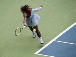 Serena Williams, 36 anni, americana, nove finali in carriera a New York con 6 vittorie. Ap