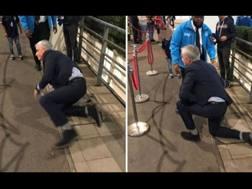 La caduta di Mourinho prima di Inghilterra-Spagna. @scespn