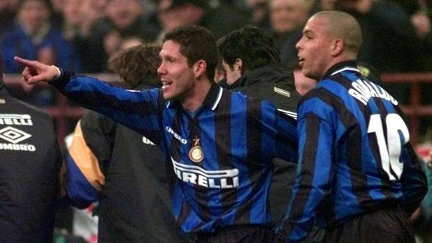 Diego Simeone at the time of Inter.  ap