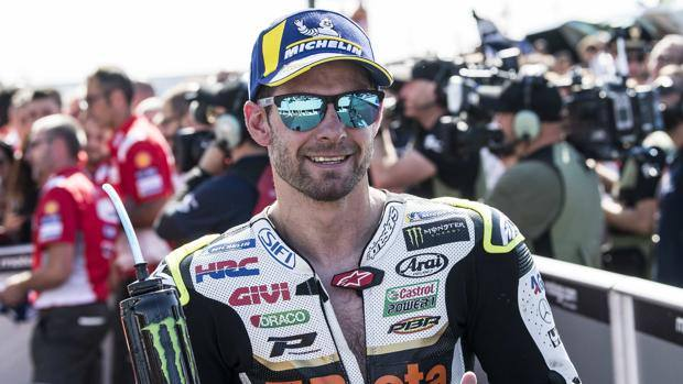 Cal Crutchlow, 32 years old. Ciamillo and Castoria