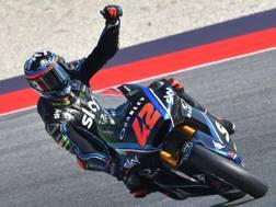 Francesco Bagnaia trionfatore a Misano. Afp