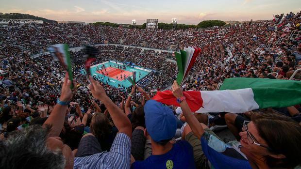 Spectacular glance at the Italic Forum. Fama