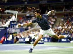 Novak Djokovic, 31 anni, numero 6 ranking Atp . Afp