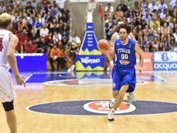 Amedeo Della Valle, 25 anni, guardia di 194 cm, la prossima stagione giocherà a Milano. CiamCast