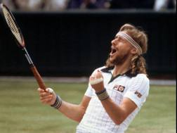 Bjorn Borg, nato a Stoccolma il 6 giugno 1956, ha vinto 11 Slam: 6 Roland Garros e 5 Wimbledon