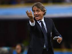 Roberto Mancini, ct della Nazionale. Getty Images