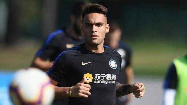 Lautaro Martinez, 20, Inter striker. Getty Images