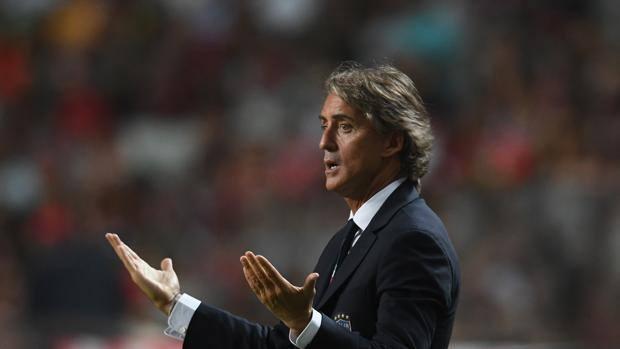 Roberto Mancini, national coach.  GETTY
