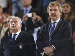 A destra, Zbigniew Boniek, 62 anni. LaPresse
