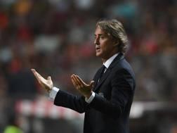 Roberto Mancini, c.t. della Nazionale. GETTY