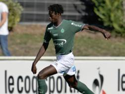 William Gomis, ex Saint-Etienne. Foto da Twitter