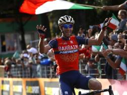 Vincenzo Nibali vince il Lombardia 2017 BETTINI