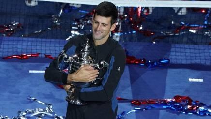 Novak Djokovic, 31 anni, terza vittoria a Flushing Meadows AFP