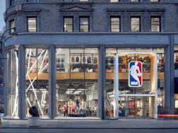 Lo store Nba di New York