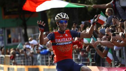 Vincenzo Nibali vince il Lombardia 2017 BETTINI