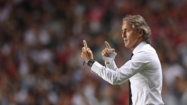 Roberto Mancini, 53 years old.  LaPresse