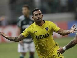 Carlos Tevez, 34 anni. Ap