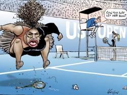 La vignetta che sta indignando il web. Mark Knight account Twitter