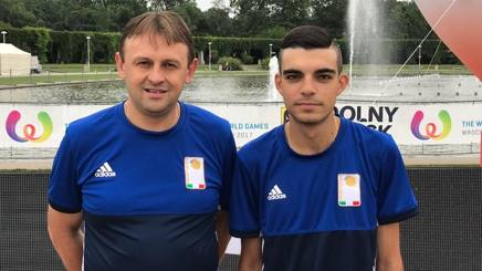 Fabio Dutto e Diego Rizzi ai World Games 2017