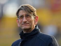 Luca Campedelli, presidente del Chievo. Lapresse