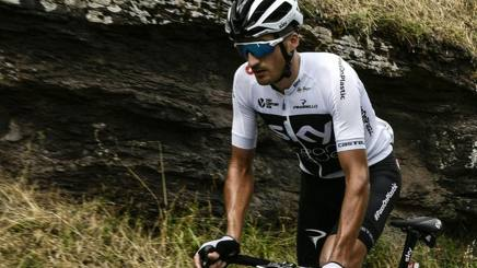 Gianni Moscon, 24 anni, ha corso il Tour con Sky. Afp