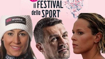 Da sinistra, Sofia Goggia, Paolo Maldini e Federica Pellegrini. Gazzetta