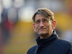 Luca Campedelli, presidente del Chievo Verona. LaPresse