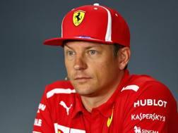 Kimi Raikkonen, iridato in Ferrari nel 2007. Getty