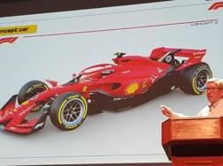 Ross Brawn e un prototipo delle F.1 per il 2021