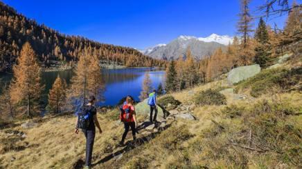 Trekker in Trentino-Alto Adige, una delle zone più suggestive d'Italia per immergersi nella natura